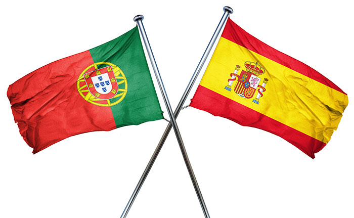 Flag of Portugal and Spain