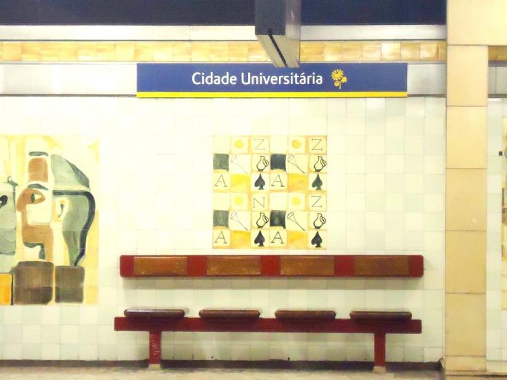 Cidade universitária metro station