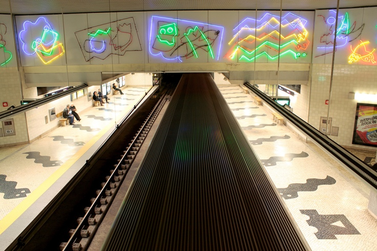 Carnide metro station