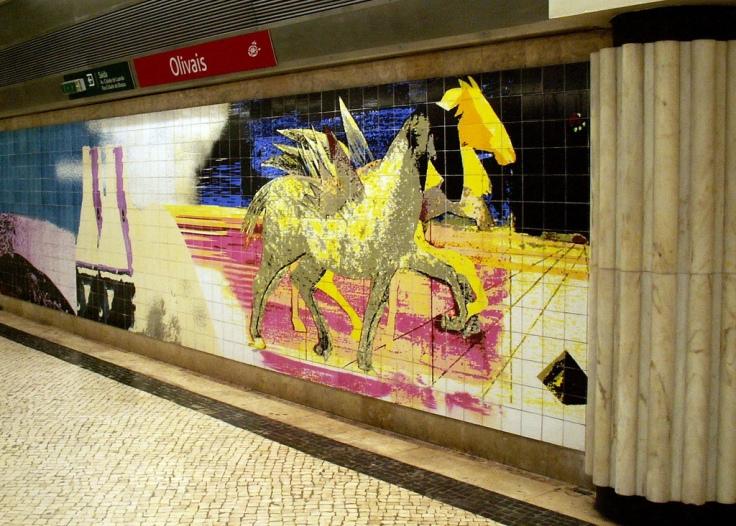 Olivais metro station
